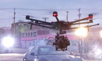 The DJI M600 Drone Is Built to Carry Heavy Cinema Camera Rigs