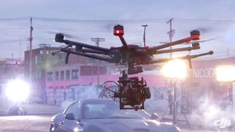 DJI M600 Drone
