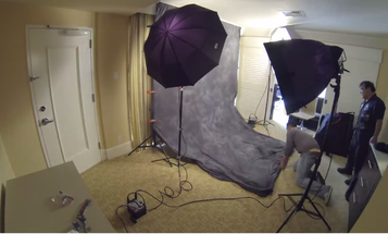 Video: Watch a Hotel Room Turn Into a Studio For a Photo Shoot With Pharrell