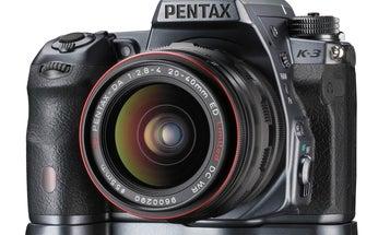 Pentax K-3 Presitege Edition DSLR is Gunmetal Gray