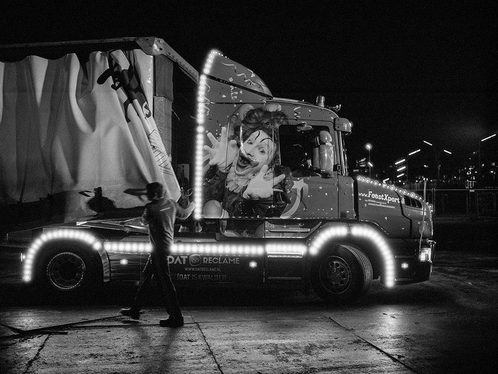 pallet trucks arrive at Vreugdevuur Scheveningen