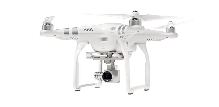 DJI Phantom 3 Camera Drone With 4K Video