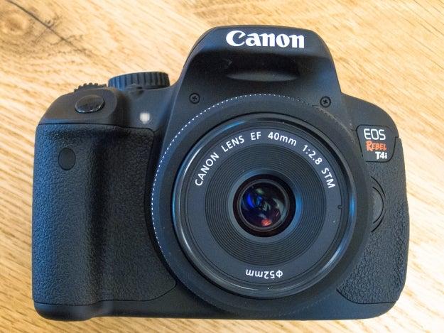 Canon EOS Rebel T4i DSLR