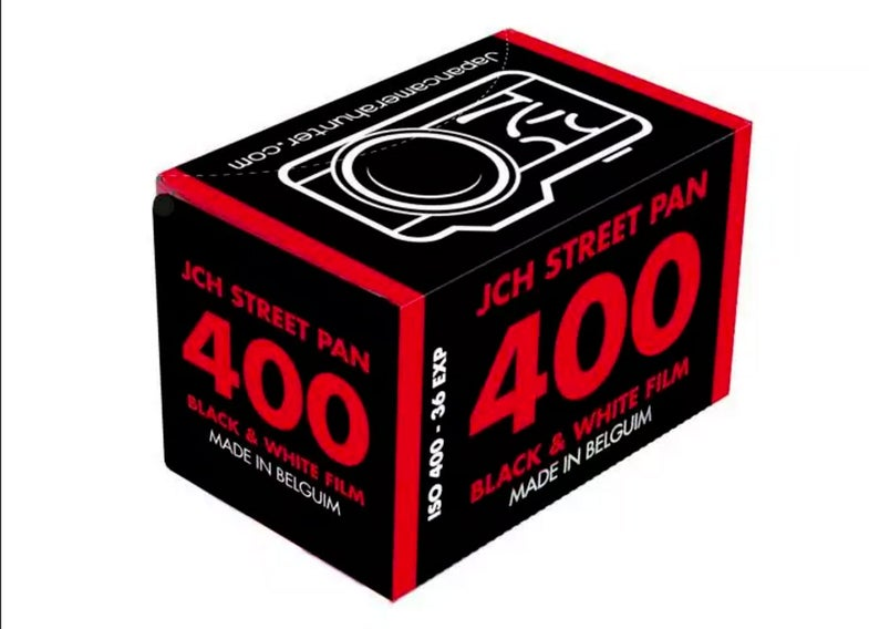 Japan Camera Hunter JCH Street Pan Black and White Film