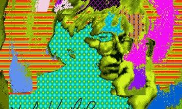 Watch Andy Warhol Create  Digital Image Art With Early Editing Tech