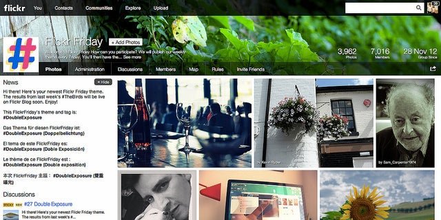 flickr groups