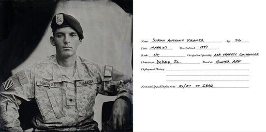 """""""Collodion-Soldiers-SPC-Shaun-Kramer"""""""
