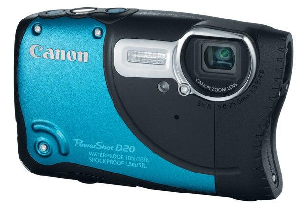 Canon Powershot D20 Main