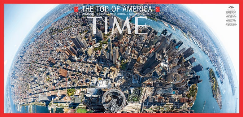 Time panorama cover
