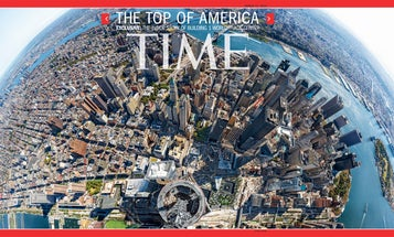 How Time Magazine Shot an Incredible Panorama from the Top of One World Trade Center