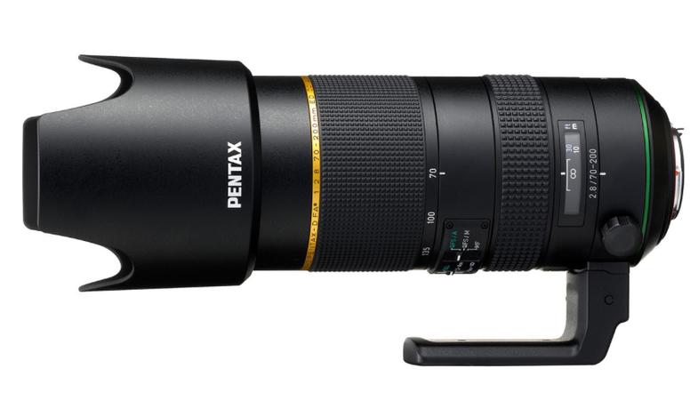 Pentax Full-Frame Camera and 70-200mm lens