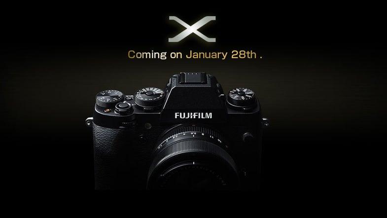 Fujifilm Teases X-Series Camera for january 28th
