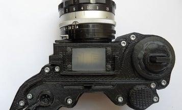 OpenReflex is a 3D Printed, DIY SLR