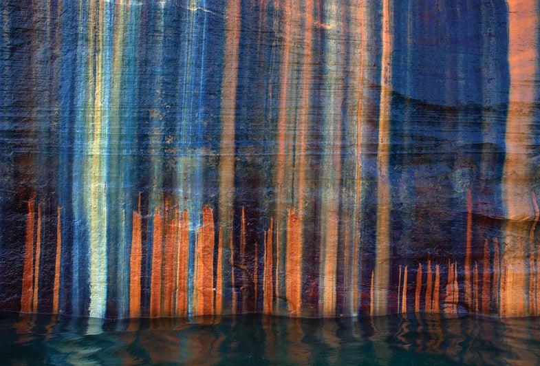 Cliff Wall, Pictured Rocks Nat'l Lakeshore, MI