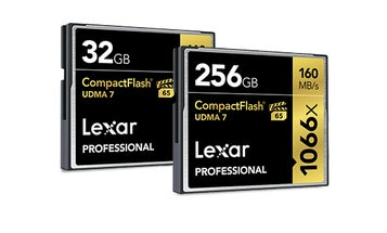 Lexar memory cards are making a comeback