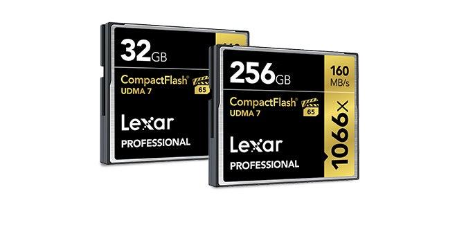Lexar flash card