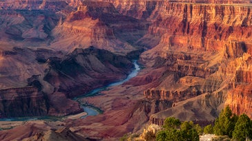 Grand Canyon Sunset at Desert View Point