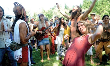 Photo Book: Bliss: Transformation Festivals and the Neo Hippie