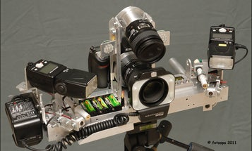 This Laser Guided Macro Setup Is Perfectly Designed For Capturing Insects In Flight
