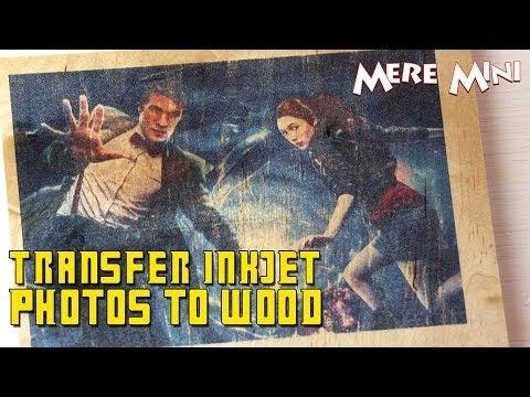 printing wood