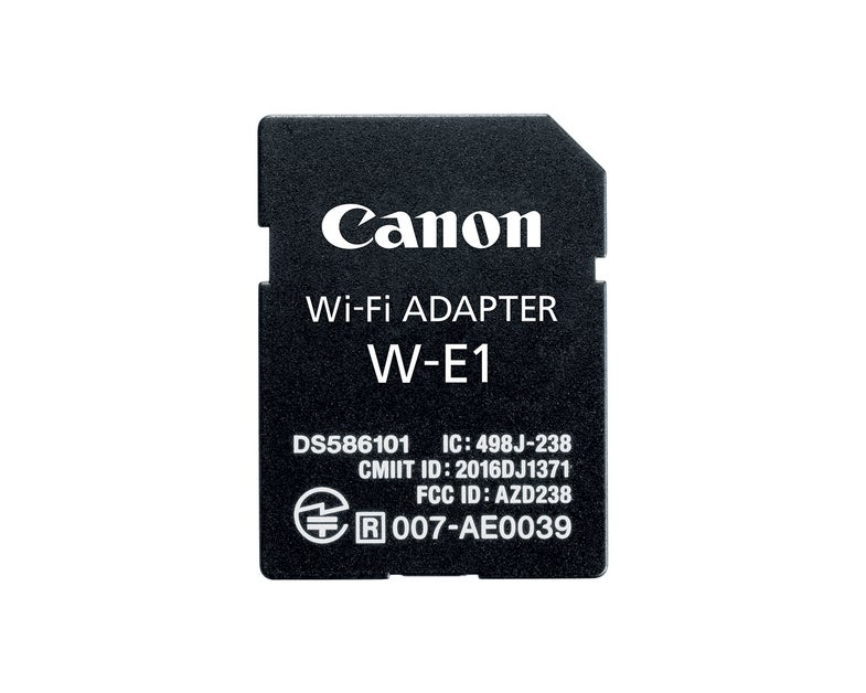 Canon W-E1 wireless adapter for DSLRs