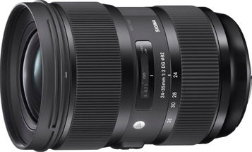 New Gear: Sigma's 24-35mm F/2 DG HSM Art Full-Frame Zoom Lens Is the First of Its Kind (Updated)