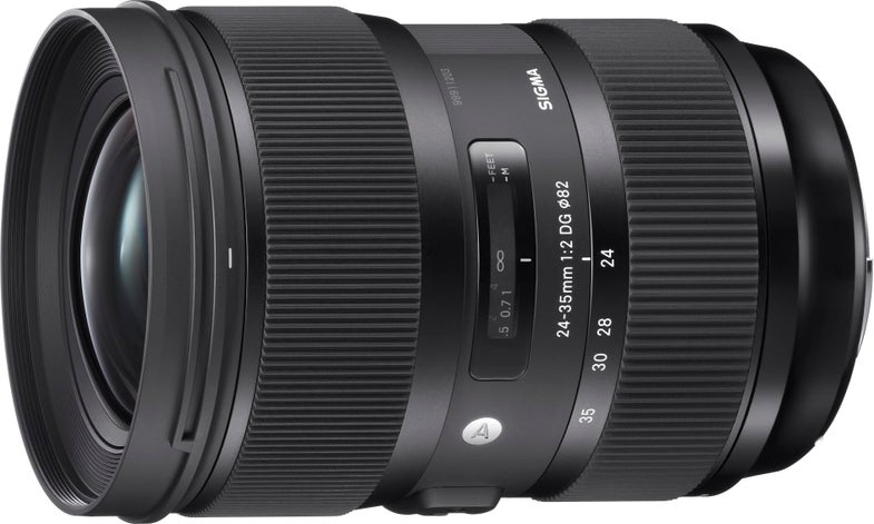 Sigma 24-35mm F/2 Zoom Lens