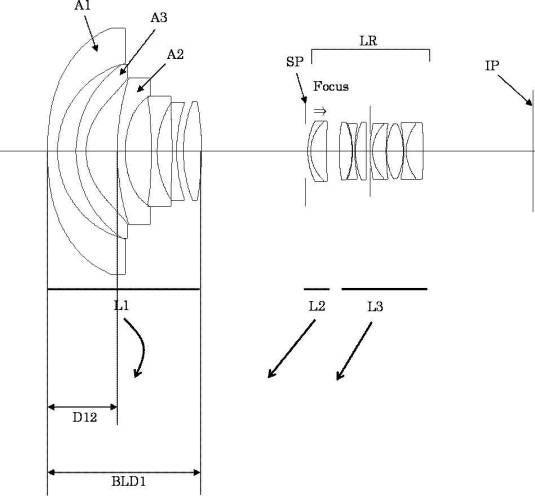 canon 11-24 lens patent