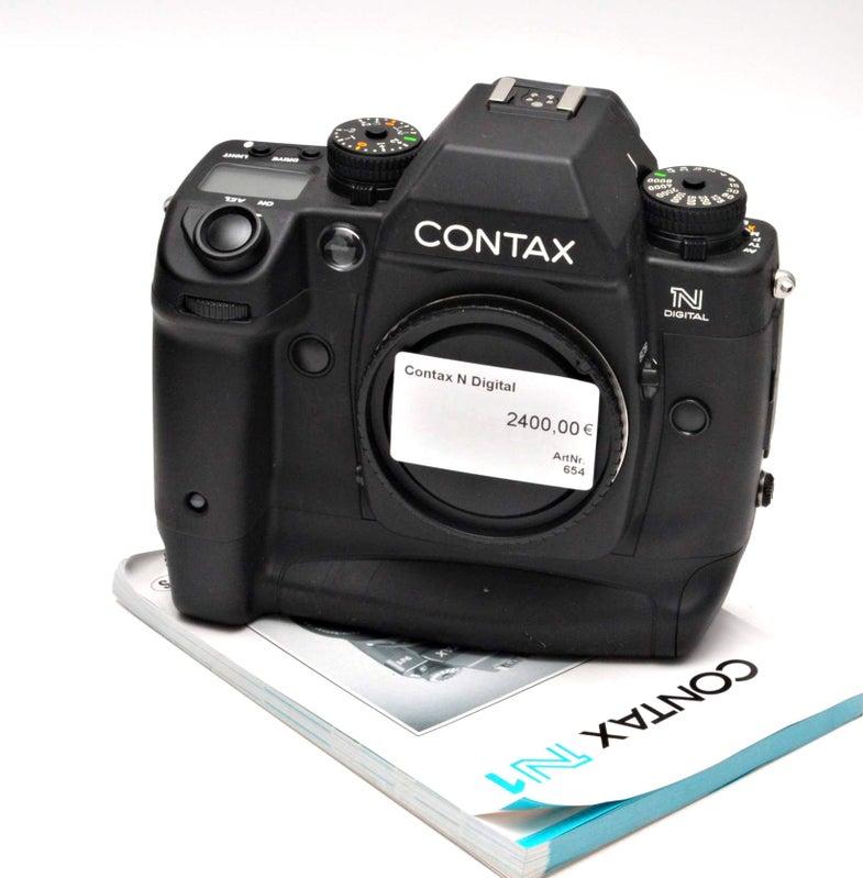 Contax N DSLR (first full-framer): $2,901
