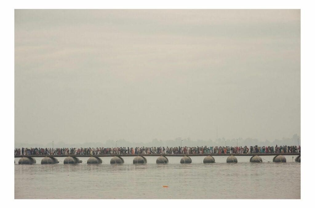 The Ganges sans people
