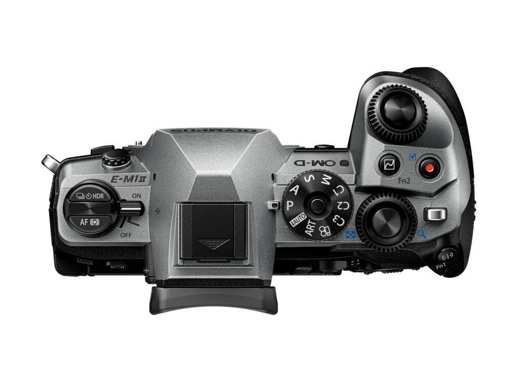 limited edition silver OM-D E-M1 Mark II camera