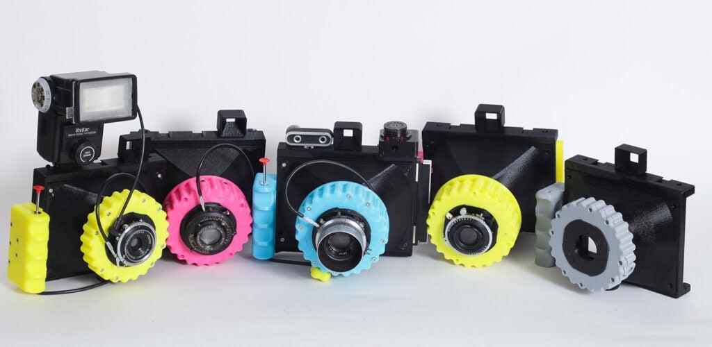 Cameradactyl OG 4x5 hand cameras