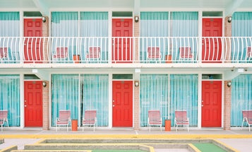 Capturing the stark transformation of beach towns in the off-season