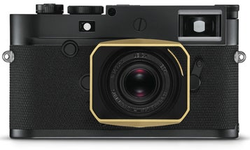 The Leica M10-P ASC 100 Edition is a classy black and gold camera that pays homage to a Leica prototype