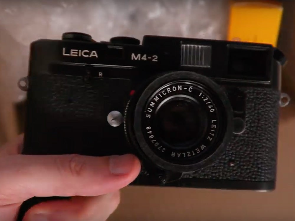 Leica M4-2 camera