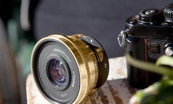The Lomogon 2.5/32mm Art Lens offers moody analog aesthetics for digital cameras