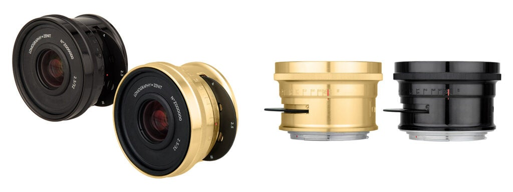 Lomogon 2.5/32mm Art Lenses