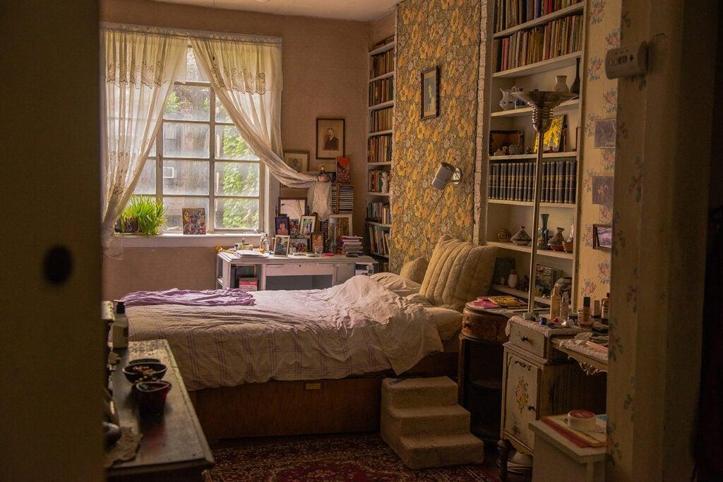 Anni Bergman bedroom