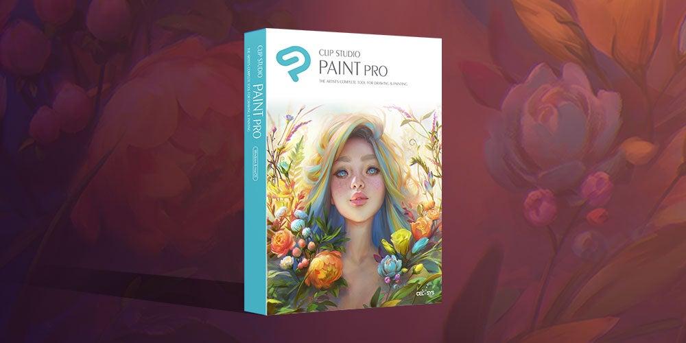 Clip Studio Paint PRO.