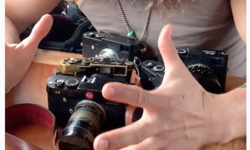 Jason Momoa's camera collection is probably more impressive than yours
