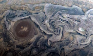 Jupiter's roiling clouds are a thing of beauty