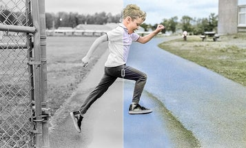 This tool automatically colorizes your black and white photographs