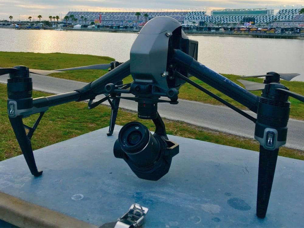 Daytona 500 Drone Camera