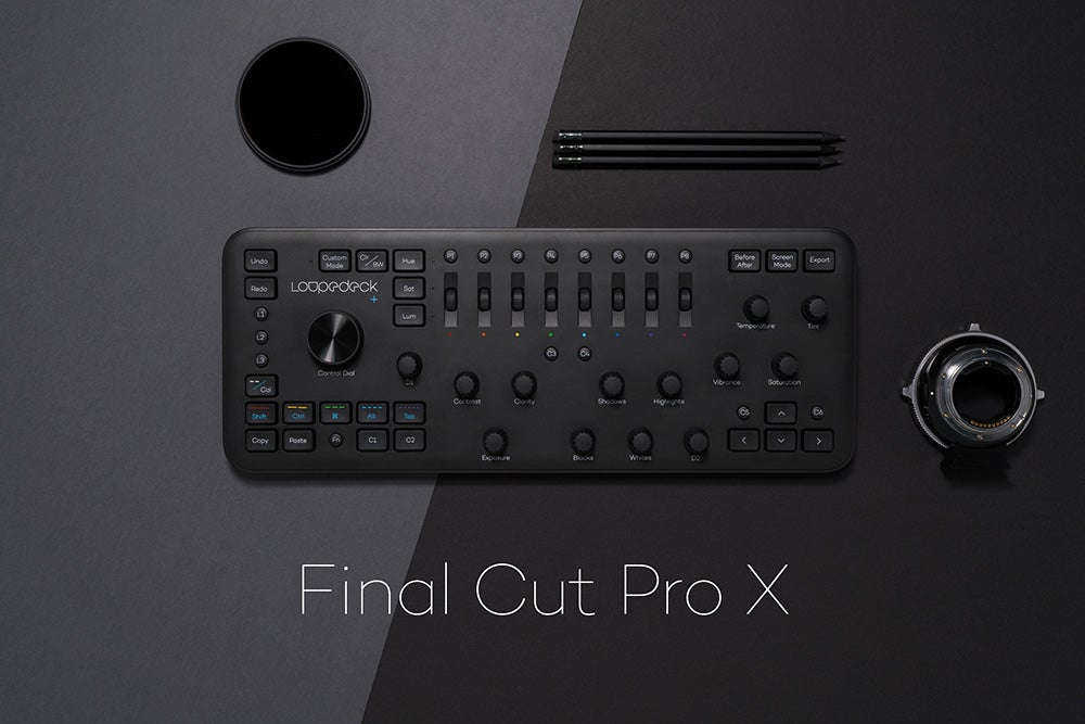 loupdeck final cut pro x