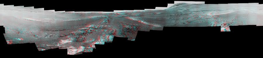 mars rover panorama 3D