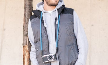 This pricey photo vest comes with a personal heating system