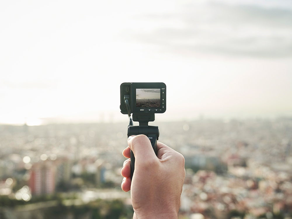 Sony RX0 II action cam grip