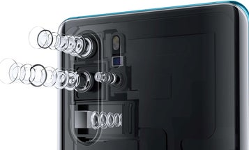 The Huawei P30 Pro smartphone camera sees color differently to capture more light