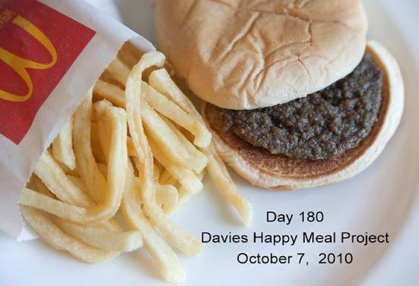 Artist Photographs Happy Meal Once a Week for 180 Days, No Change in Appearance
