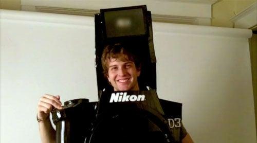 This Nikon D3 DSLR Halloween Costume Actually Works